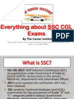 Everything About SSC CGL Exams