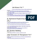 MMSE Journal Vol.7 2016