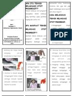 Leaflet Teknik Relaksasi Otot Progresif
