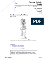 Low Compression, Fault Tracing