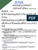 Slide HTML