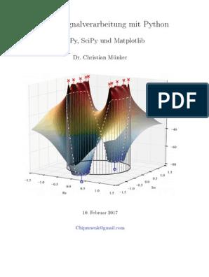 2017 Muenker Intro Python DSP   Matlab   Python (Programming