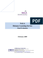 NALA Distance Learning Service Evaluation 2008