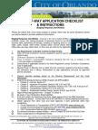 RoW Application Checklist-Orlando