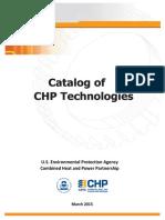 Catalog of Chp Technologies