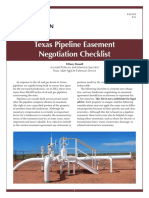 Pipeline Easement Negotiation Checklist-AAM