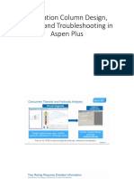 Distillation Column Design, Rating, And Troubleshooting