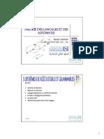 TLA - CH03 - Systèmes de Reécriture Et Grammaires