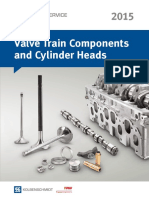 Valve Train Components and Cylinder Heads Catalogue
