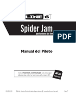 Spider Jam Manual Piloto