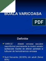 Boala varicoasa