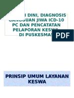materi dr. yuni DETEKSI DINI, DIAGNOSIS GANGGUAN JIWA  ICD-10 PC.ppt