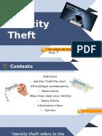 Identity Theft PowerPoint