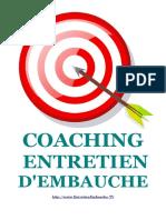 Coaching Entretien d'Embauche