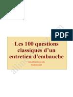 100 questions classiques d'un entretien d'embauche.doc