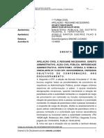 Ação de improbidade administrativa e nepostismo - Agnelo Queiroz
