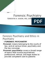 forensic psychiatry.ppt
