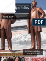 EU Foreign Policy Overview April