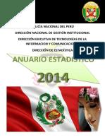 Anuario Estadistico Pnp 2014