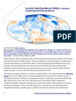 Global Warming 'Hockey Stick' Data Founded on FRAUD...