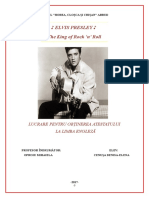 Atestat Engleza-Elvis Presley.doc