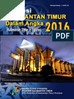 Provinsi Kalimantan Timur Dalam Angka 2016