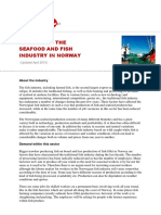 Working in the Norwegian Seafood and Fish Industry in Norway April 2015