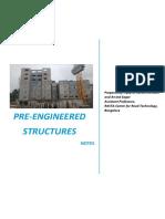 Pre-cast RC Structures - Notes