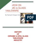 Ceramic & Glass Tableware