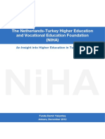 An Insight Into Higher Education in Turkey, 2012