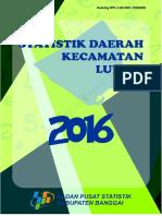 Statistik-Daerah-Kecamatan-Luwuk-2016--