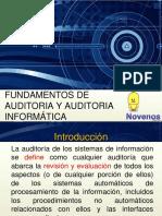 1. Fundamentos de La Auditoria Informatica