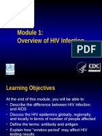 Module1 Overview Hivinfection (1)