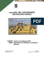 Manual Instruccion Tecnica Tractor Oruga d8t Caterpillar
