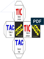 Dado Tic Tac Boom