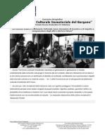 Concorso Fotografico 2010 - Il Patrimonio Culturale Immateriale del Gargano