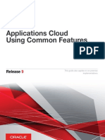 Applications Cloud Using Common Features