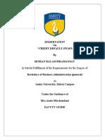 Credit Swaps Dissertation