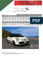 Fiat 500l Avgust 2016