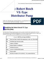2008 Robert Bosch VE-type Injection Pump