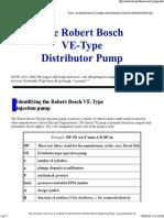 2008 Robert Bosch VE-type Injection Pump