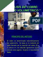 Analisis Volumetrico Cu