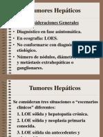 TUMORES HEPATICOS 2017
