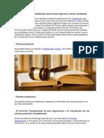 Formulación de La Constitución Como Norma Suprema y Norma