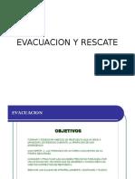 Evacuacion y Rescate