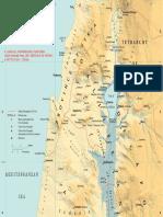 Kaart Van Het Joodse Land