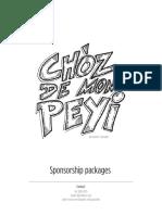 CDMP Sponsorship Packages