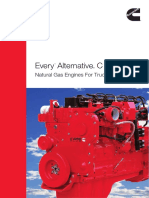 Natural Gas Engines for Truck and Bus