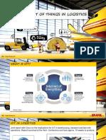 Gruene Logistik Internet of Things in Logistics