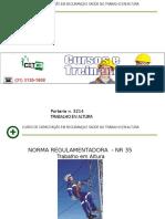 CETCB - Trabalho Em Altura NR-35